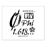 Phi Collage Small Poster