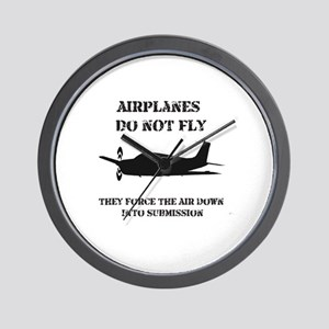 Airplane Submission Wall Clock