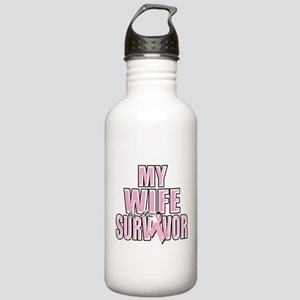 My Wife is a Survivor Stainless Water Bottle 1.0L
