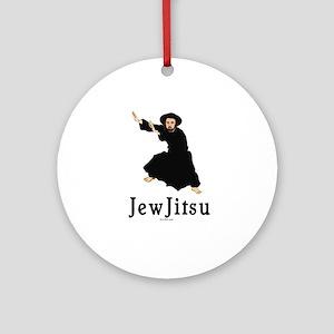 JewJitsu Ornament (Round)