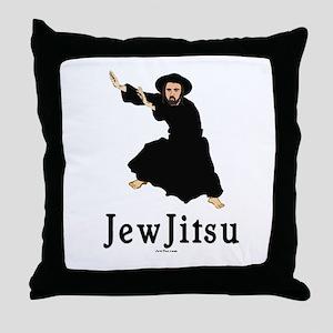 JewJitsu Throw Pillow