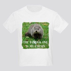 Cousin of Famous Groundhog Kids Light T-Shirt