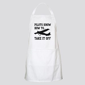 Pilots Know How To Take It Off Apron