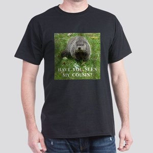 Cousin of Famous Groundhog Dark T-Shirt