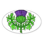 Glasgow Highland Games KY USA Sticker (Oval)