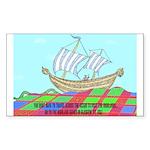 Glasgow Highland Games KY USA Sticker (Rectangle)