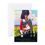 Glasgow Highland Games KY USA Greeting Card