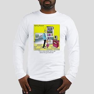 Before People Had Antennae Long Sleeve T-Shirt