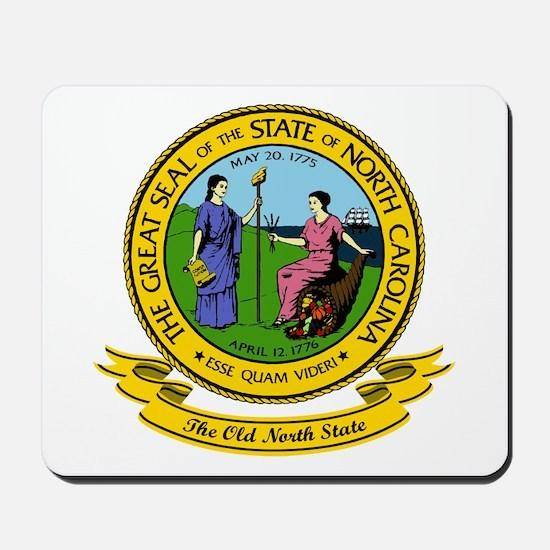 North Carolina Seal Mousepad