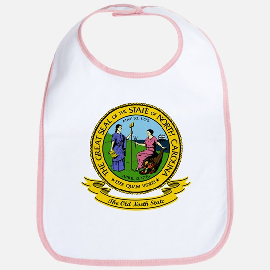 North Carolina Seal Bib