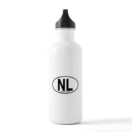 Netherlands Euro Oval (plain) Stainless Water Bott