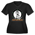 rtr_logo in color for black shirts Plus Size T-Shi