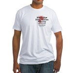 Black Eye Distribution Fitted T-Shirt