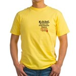 KO Distribution Yellow T-Shirt