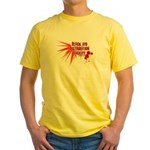 Black Eye Distribution Yellow T-Shirt