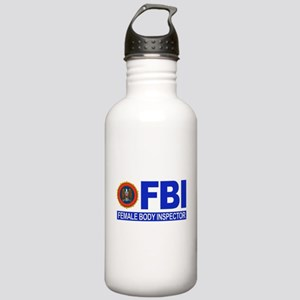 FBI Female Body Inspector Stainless Water Bottle 1