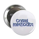 Crystal Methodist Button