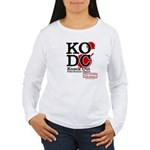 KO Distribution boxing Women's Long Sleeve T-Shirt