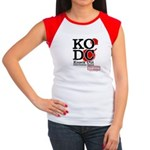 KO Distribution boxing Women's Cap Sleeve T-Shirt