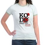 KO Distribution boxing Jr. Ringer T-Shirt