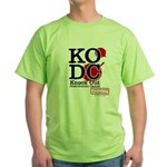 KO Distribution boxing Green T-Shirt