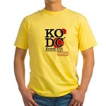KO Distribution boxing Yellow T-Shirt