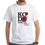 KO Distribution boxing White T-Shirt