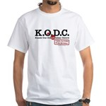 KnockOut Distribution White T-Shirt