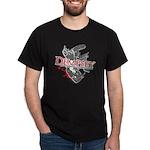 No Muscles On Yer Chin Dark T-Shirt