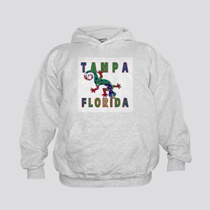 Tampa Florida Lizard Kids Hoodie