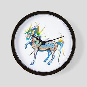 Horses of Color Wall Clock