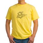 South Paw boxer Yellow T-Shirt