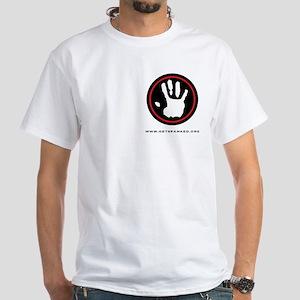 S.P.A.N.K. White T-Shirt