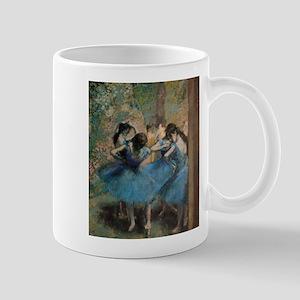 Dancers in blue by Edgar Degas Mugs