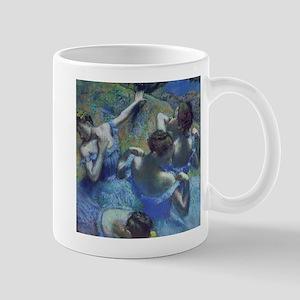 Blue Dancers by Edgar Degas Mugs