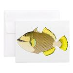 Titan triggerfish Notecards (Set of 10)