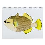 Triggerfish Wall Calendar