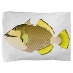 Titan triggerfish Pillow Sham