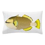 Titan triggerfish Pillow Case