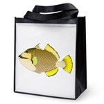 Titan triggerfish Reusable Grocery Tote Bag