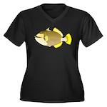 Titan triggerfish Plus Size T-Shirt