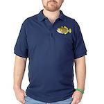 Titan triggerfish Dark Polo Shirt