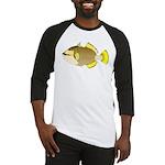 Titan triggerfish Baseball Jersey