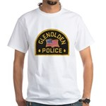 Glenolden Police White T-Shirt