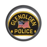 Glenolden Police Wall Clock