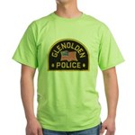Glenolden Police Green T-Shirt