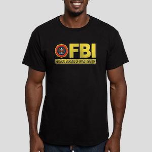 FBI Federal Bureau of Investigation Men's Fitted T