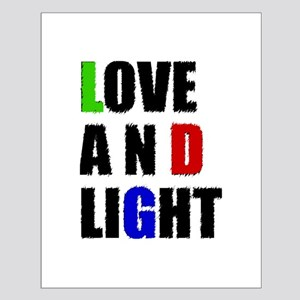 Love and Light Small Poster