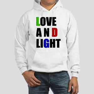 Love and Light Hooded Sweatshirt