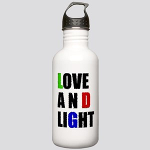 Love and Light Stainless Water Bottle 1.0L
